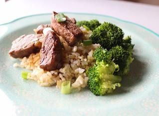 Broccoli Beef Dinner