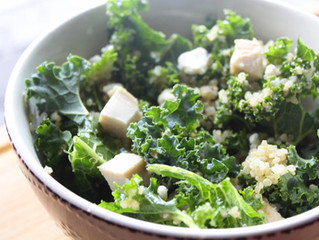 Chicken Kale Quinoa Bowl