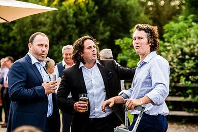 Wedding Outside Drinks