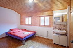 Double room with separate shower