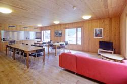 Lounge and TV corner at Generoso