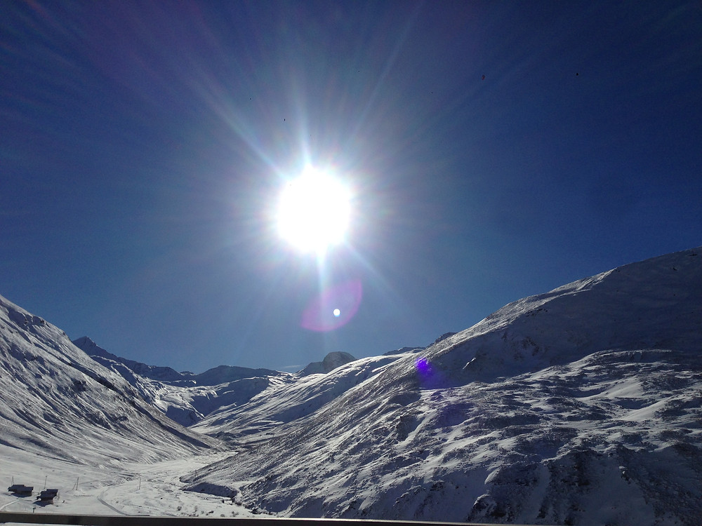 Val Bergalga im Hochtal Avers