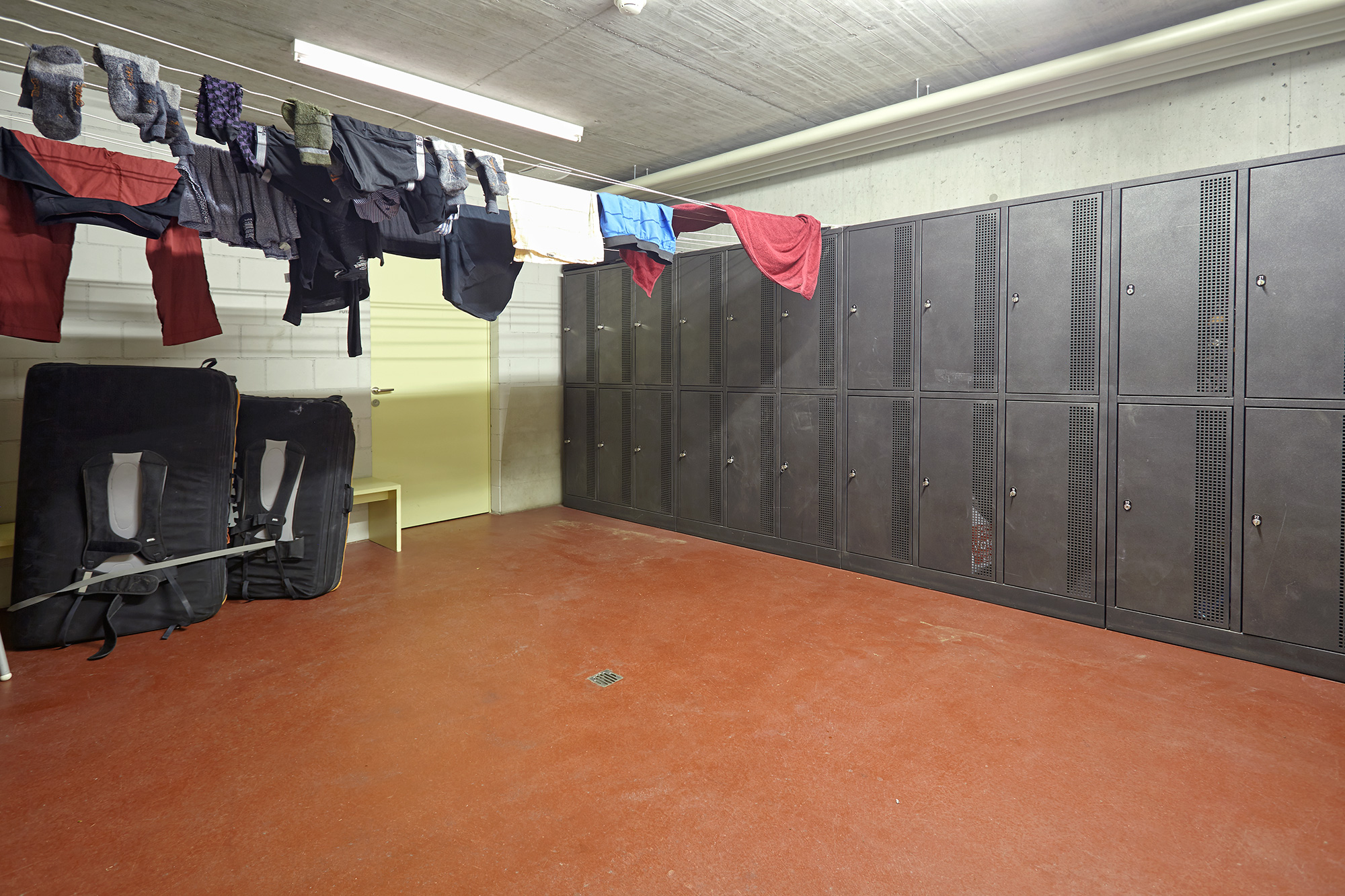 Storrage and dry room at Generoso