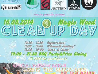 Pressemeldung 5. Magic Wood Clean Up Day Press release