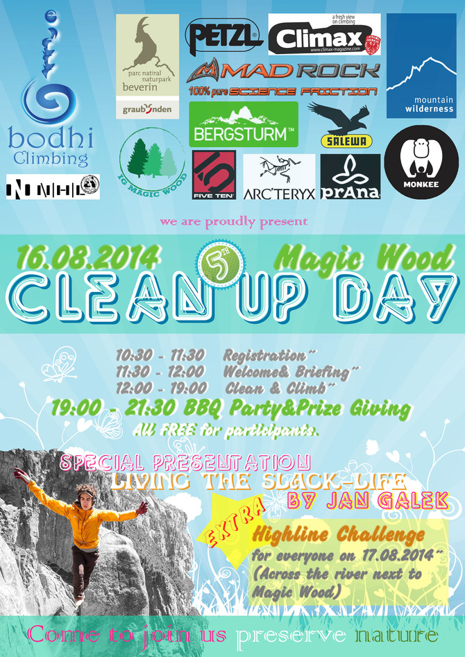 5. Magic Wood Clean Up Day 2014