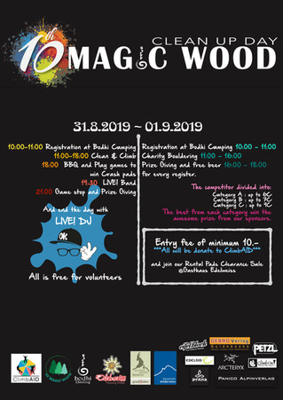 10th Magic Wood Clean Up Day 2019