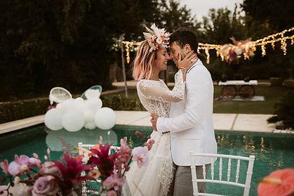 Wedding styling Spanje