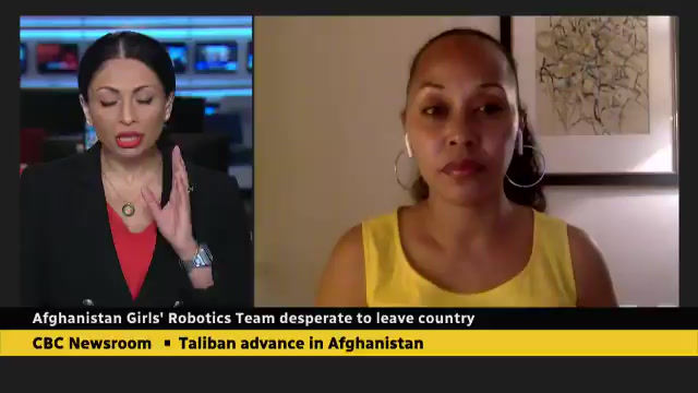 Afghanistan's All girls Robotics Team needs your help!