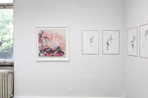 eigen, 2015 & Zeichnungen ohne Schatten, 2015