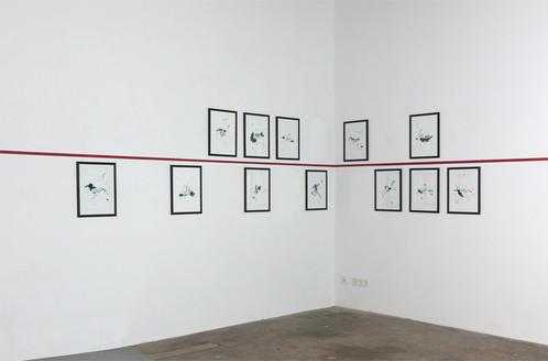 FEIA I-XII, 2018 Ausstellungsansicht