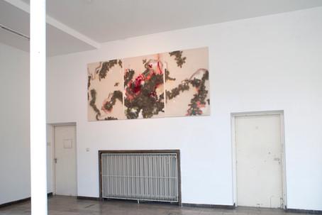 Regenberg und Wischmopp 2017 Ausstellungsansicht