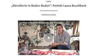 SWR 2 Künstlerin in Baden-Baden Video.jp