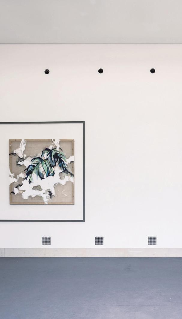 Leporello (Innenseite) zur Ausstellung Laura Buschbeck - peculiar horizon