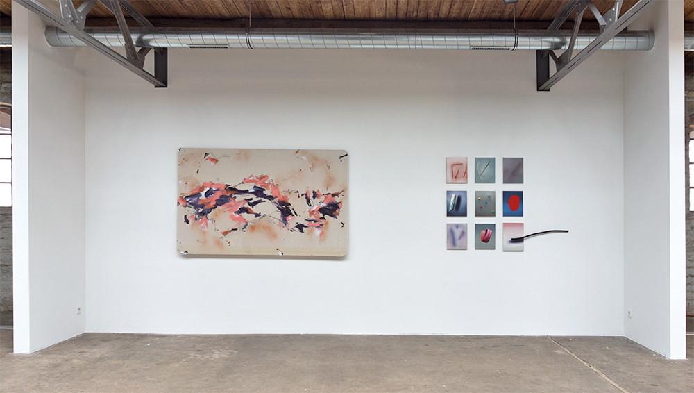 non urban, 2018 Ausstellungsansicht