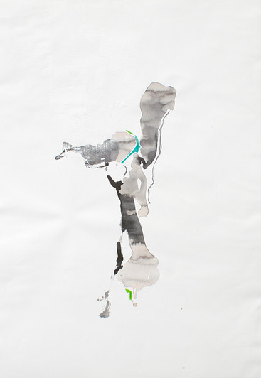 Zeichnung ohne Schatten II, 2015