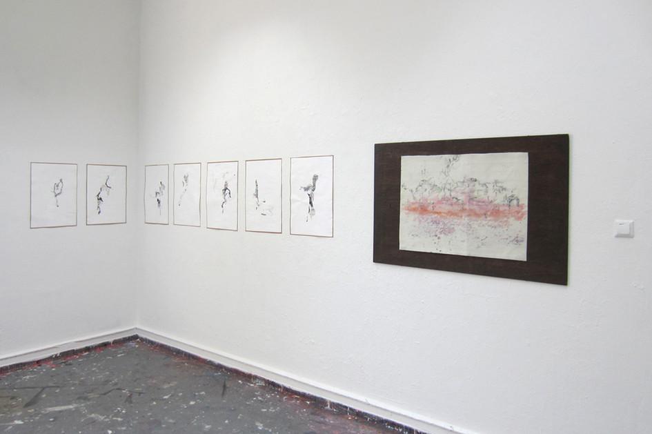 Zeichnungen ohne Schatten, 2015 & brux, 2015