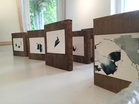 """Ausstellungsansicht """"Laura Buschbeck   raw buds"""", Galerie 38"""