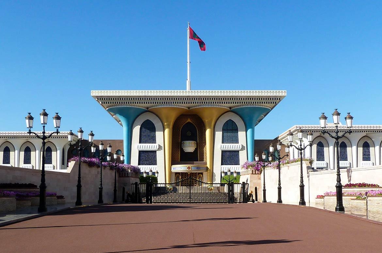 Muscat-Oman-Royal-Palace-Qasr-al-Alam