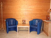 Sitzecke Doppelzimmer Golm