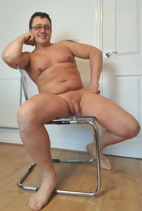 Sat on my Ikea chair