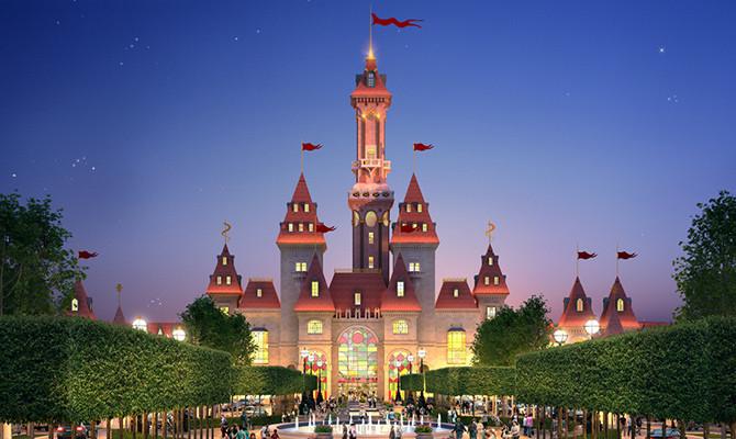 Projeto da Disneyland russa, intitulada Dream Island