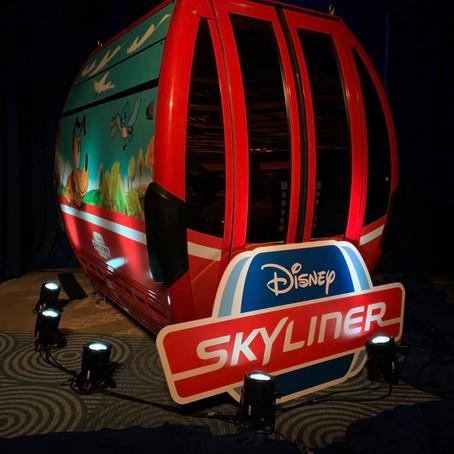 Disney divulga detalhesdo Disney Skyliner