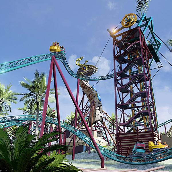 Cobra's Curse é a nova montanha-russa do Busch Gardens
