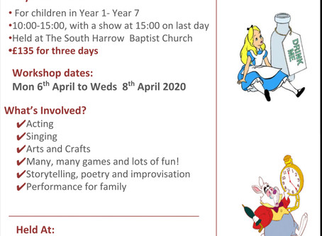 Easter workshop - places going fast