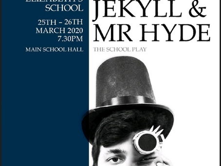 Coming Soon, Dr Jekyll and Mr Hyde at QE Boys