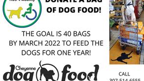 Half Way to Dog Food Goal!