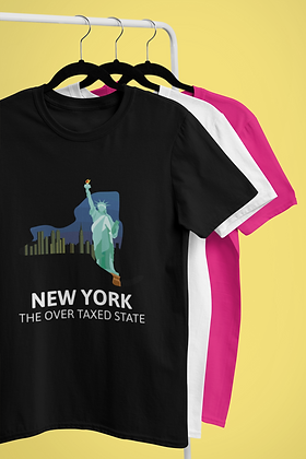 NEW YORK OVER TAXED T-SHIRT