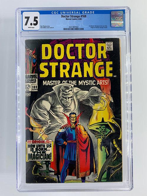 Doctor Strange #169 7.5 VF- Very Fine-
