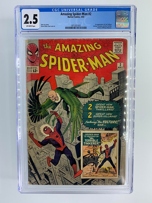 Amazing Spider-Man #2  2.5 GD+ Good+