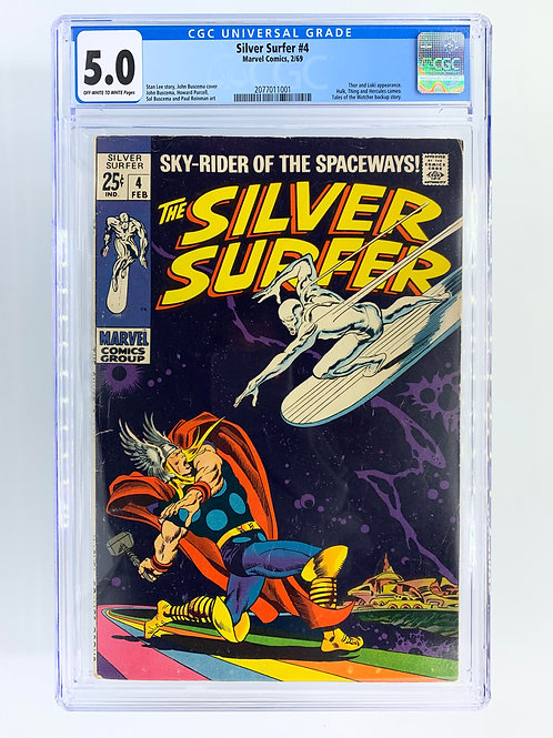 Silver Surfer CGC 5.0 VG/FN Very Good/Fine