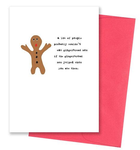 Gingerbread men - Holiday Card