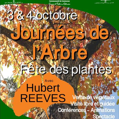Journées de l'Arbre à l'Arboretum des Barres, les 3 et 4 octobre 2020
