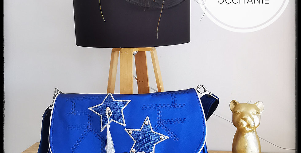 """Sac besace, collection """"Blue Day"""""""