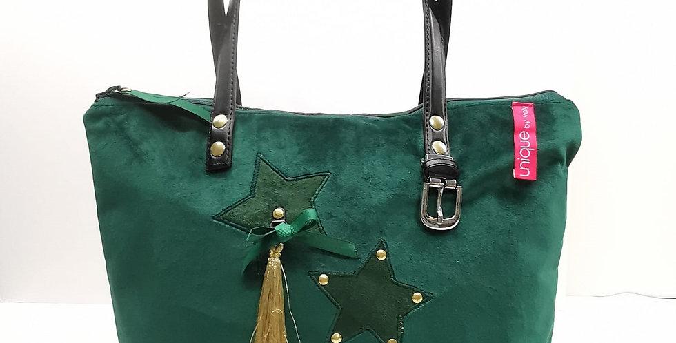 Sac Vert  collection Impérial Green modèle Delphine