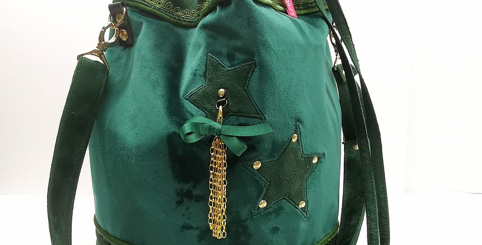 Sac seau Vert sapin modèle Sandy Collection Impérial Green