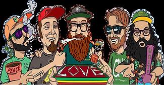 FY | Band pic : illustration - comic boo