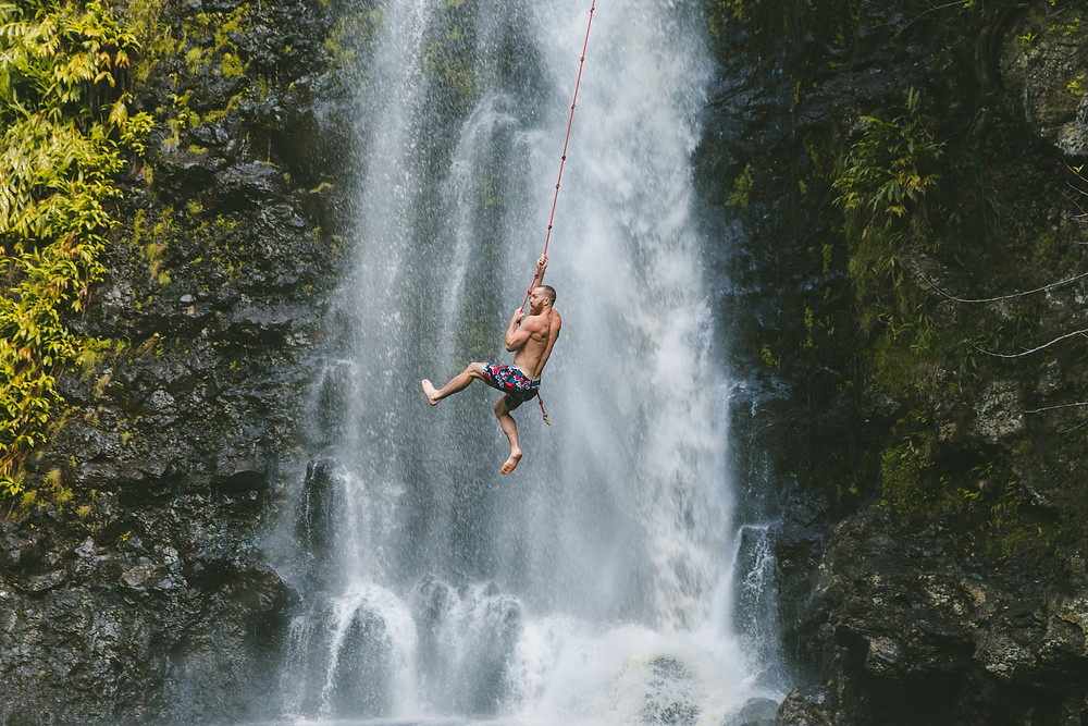 waterfalls in oahu