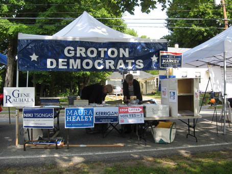 Grotonfest Booth