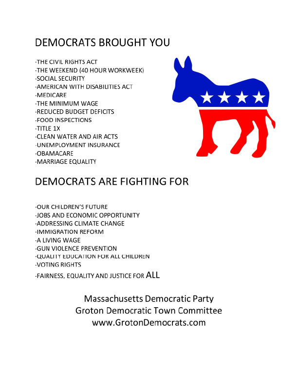 Democrats Brought You Poster