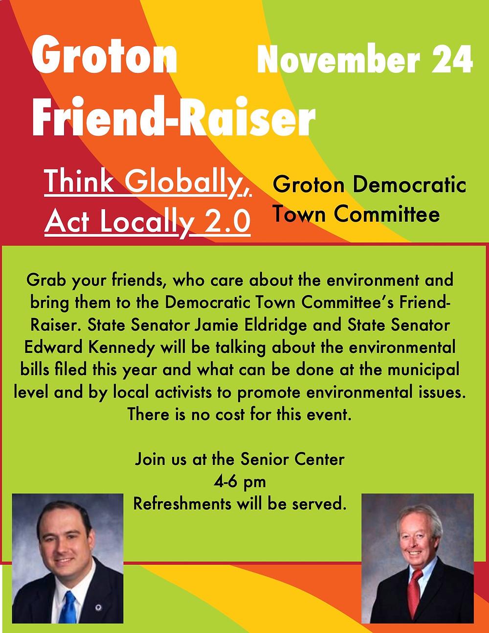 Please join us at the new Senior Center on Nov.24