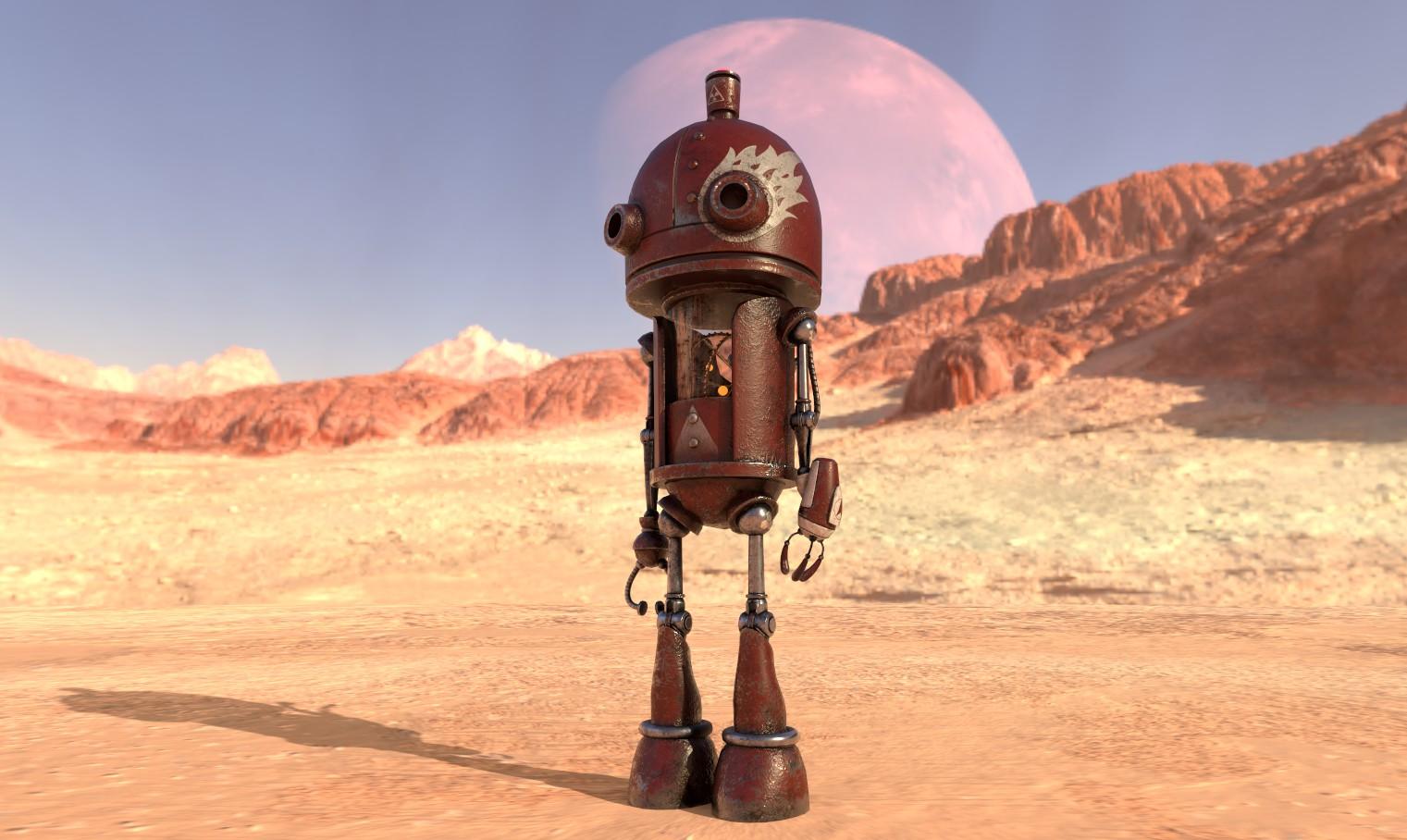 Robot by Luna