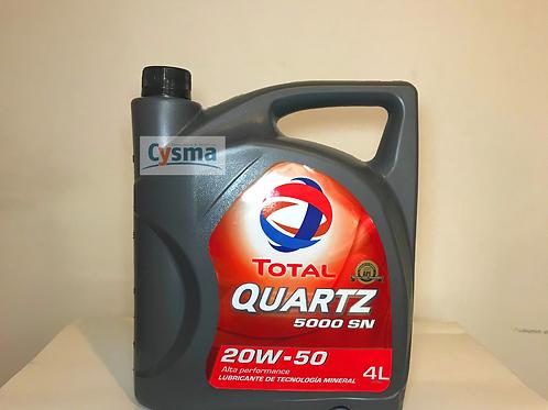 20W-50 TOTAL QUARTZ 5000 SN