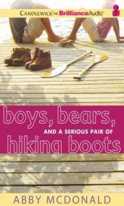 Boys, bears, hiking boots