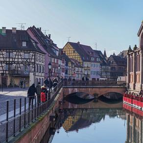 Colmar · Frühlingsgefühle statt Weihnachtsmarkt