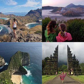 Indonesien · Guide & Sightseeing-Map