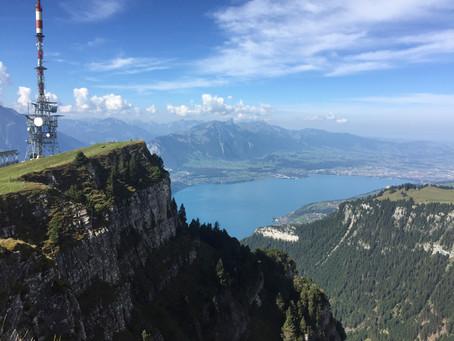 Beatenberg (Bern) · Wandern auf dem Niederhorn